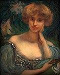 Edmont Aman-Jean Jeune femme en buste Petit Palais 29122017 2.jpg