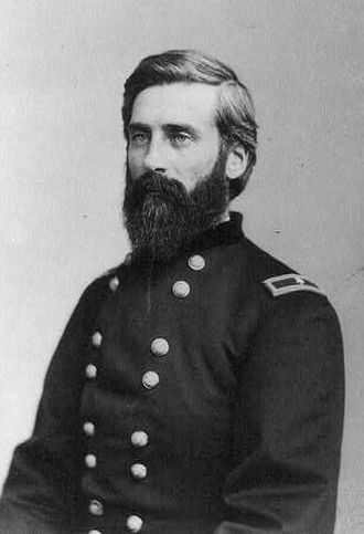 Battle of Hembrillo Basin - Although arriving late to the battlefield, Colonel Edward Hatch was the commander of the U.S. forces engaged.