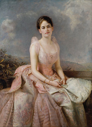 Juliette Gordon Low - Juliette Gordon Low (1860–1927) in 1887