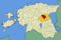 Jõgeva Parish within Jõgeva County.