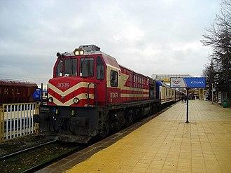 Aegean Express - The Aegean Express at Kütahya in 2009.