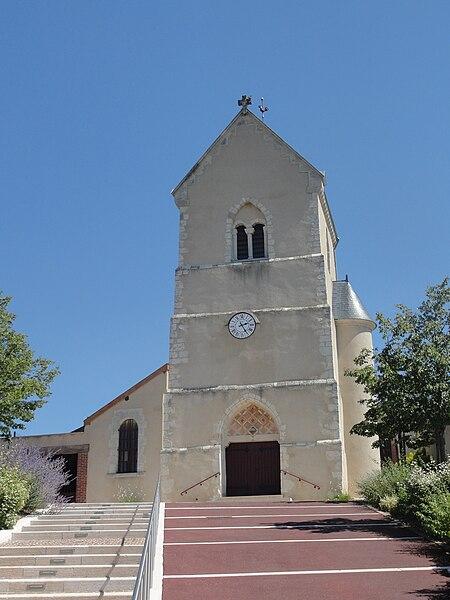 Eglise Saint Timothée de Dizy (Marne).