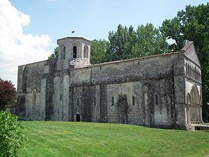 Biron, Charente-Maritime - Image: Eglise de Biron