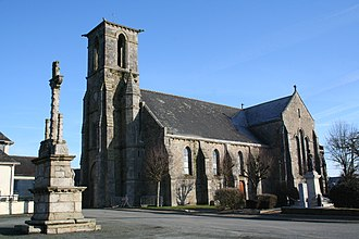 Carnoët - The church of Carnoët