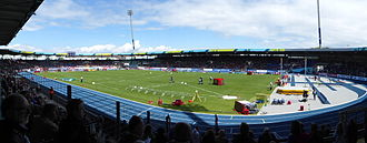 Eintracht-Stadion - Eintracht-Stadion during the European Team Championships in 2014.