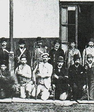 Argentine Revolution of 1893 - Image: Ejército Revolucionario Radical (1893)