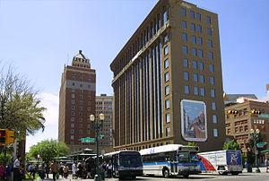Downtown El Paso - Image: El paso downtown main