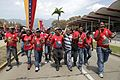 El pueblo venezolano acompañó los restos de su presidente Hugo Chávez Frías en la Academia Militar (8539059640).jpg