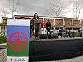 El río de Madrid acoge la Ceremonia del Pueblo Gitano 03.jpg