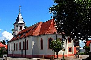 Elchesheim-Illingen - Church in Elchesheim