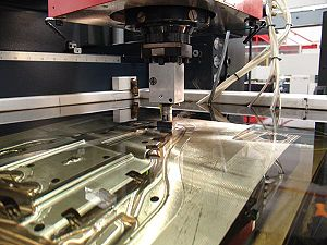 Electrical discharge machining - An electrical discharge machine