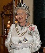 Elizabeth II, Buckingham Palace, 07 Mar 2006 crop