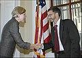 Elizabeth Warren being sworn in, 09-17-10 (5008208909).jpg