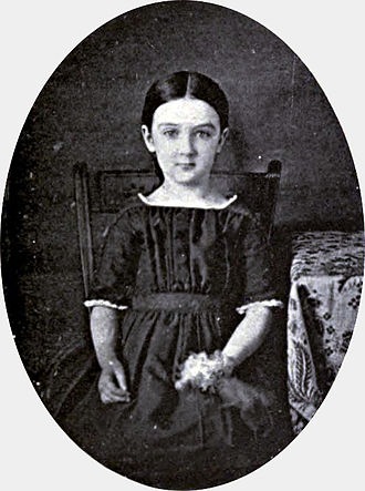 Ellen Swallow Richards - Daguerreotype of Ellen Henrietta Swallow, c. 1848