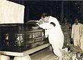 Elpidio Quirino during Manuel Roxas wake.jpg