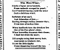 Emily Dickinson - The May Wine -Springfield Daily Republican 4 May 1861.jpg