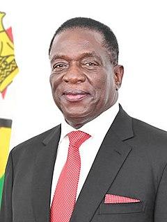 Emmerson Mnangagwa President of Zimbabwe