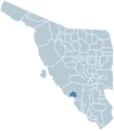 Empalme Sonora map.png