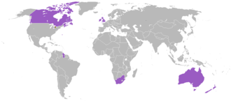 1930 British Empire Games - Participating countries