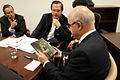 Encuentro entre el canciller Ricardo Patiño y el canciller de Argelia, Mourad Medelci (6170432166).jpg