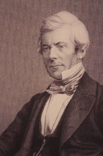 William Chambers (publisher) - Engraving of William Chambers c.1845