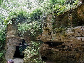 Cave and archaeological site in southwestern France