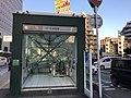 Entrance No.1 of Tenjin-Minami Station.jpg