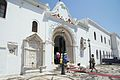 Entry to the area of pilgrimage basilica, Chora of Tinos, 090781.jpg