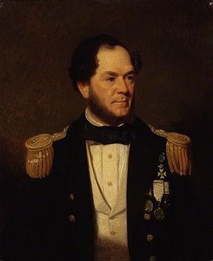 Erasmus Ommanney - Admiral Sir Erasmus Ommanney by Stephen Pearce