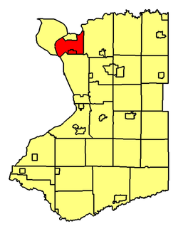 Location of Tonawanda within Erie County