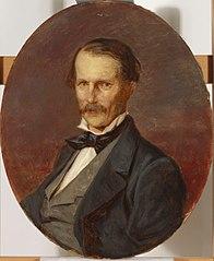 Portrait of the painter  Magnus von Wright