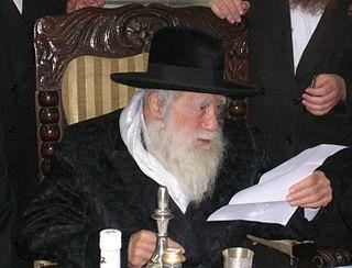 Hungarian-born Israeli rabbi