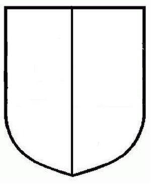 Dutch heraldry - Image: Escudo partido