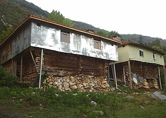 Cide - Image: Eski cide evleri
