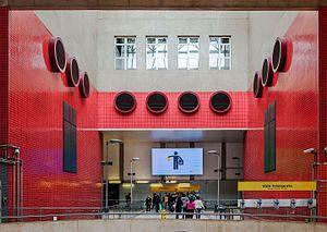 Paulista (São Paulo Metro) - Image: Estação Paulista, Av. Consolação, São Paulo, Brazil