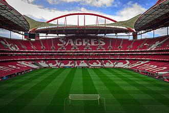 2014 UEFA Champions League Final - The Estádio da Luz hosted the UEFA Champions League final for the first time.