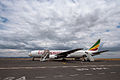 Ethiopian Airlines at Kilimanjaro Airport 2012.jpg