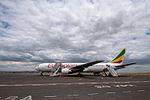 Ethiopian Airlines at Kilimanjaro Airport 2012.jpg