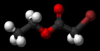Ethyl bromoacetate - Image: Ethyl bromoacetate 3D balls