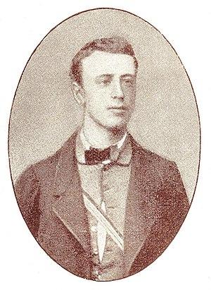 Eugen von Zimmerer - Eugen Zimmerer as a student in Würzburg in 1862