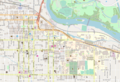 Eugene Oregon - Downtown - OpenStreetMap.png