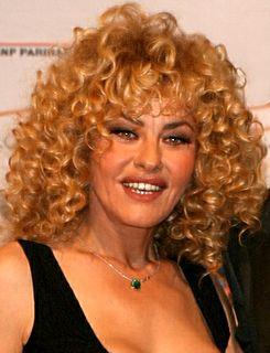 Eva Grimaldi Italian actress and model
