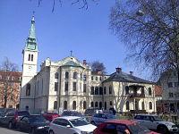 Evangelicanska cerkev v Ljubljani s parka 1.jpg