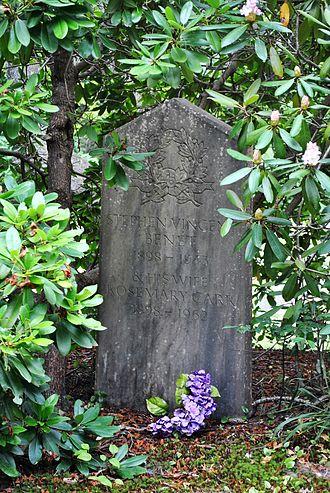 Stephen Vincent Benét - Evergreen Cemetery, Stephen Vincent Benét
