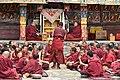 Examination of monks, Tashilhunpo Monastery, Shigatse, Tibet (7).jpg
