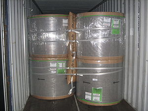 Dunnage bag - Application in container