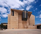 Exterior of Cathedral of Our Lady of the Angels dllu.jpg
