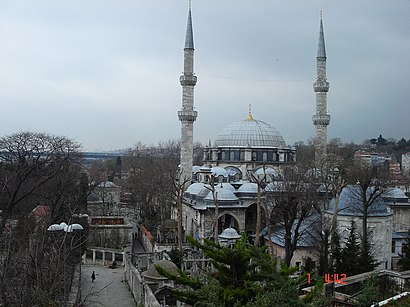 How to get to Eyüp Sultan Camii with public transit - About the place
