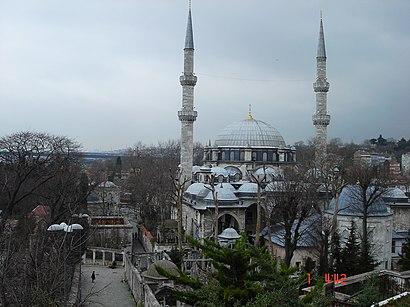 Eyüp Sultan Camii nerede, toplu taşıma ile nasıl gidilir - Yer hakkında bilgi