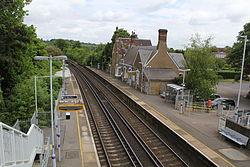 Eynsford railway station, 2015 (1).JPG